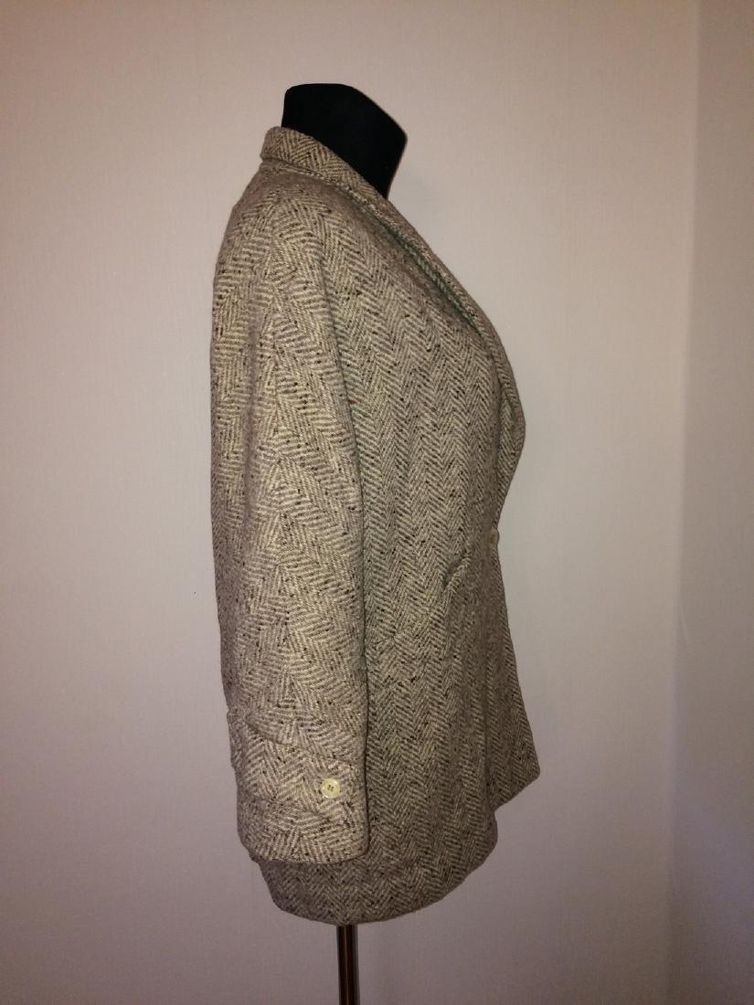 Women's Salco Pure New Wool Jacket Coat Size XL - 2