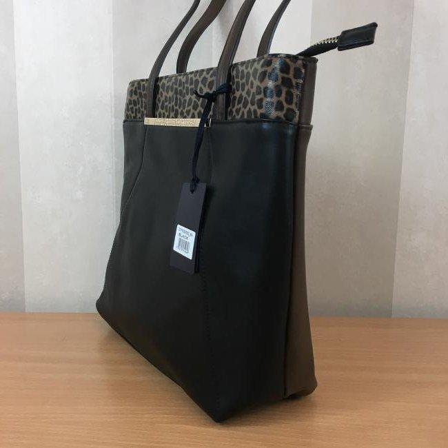 Roberto Cavalli CLASS Eco Leather Shoulder Bag - 2