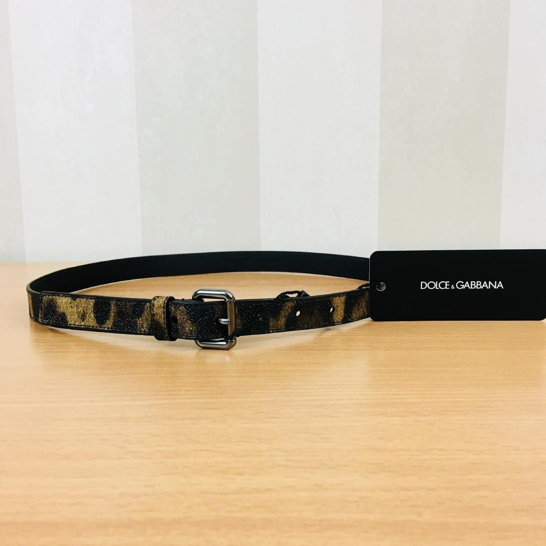 Women's Dolce & Gabbana Leopard Print Belt - 2