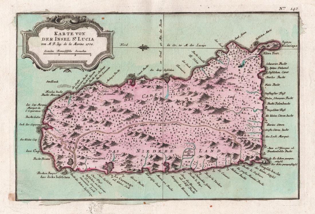 Raspe: Island of St. Lucia