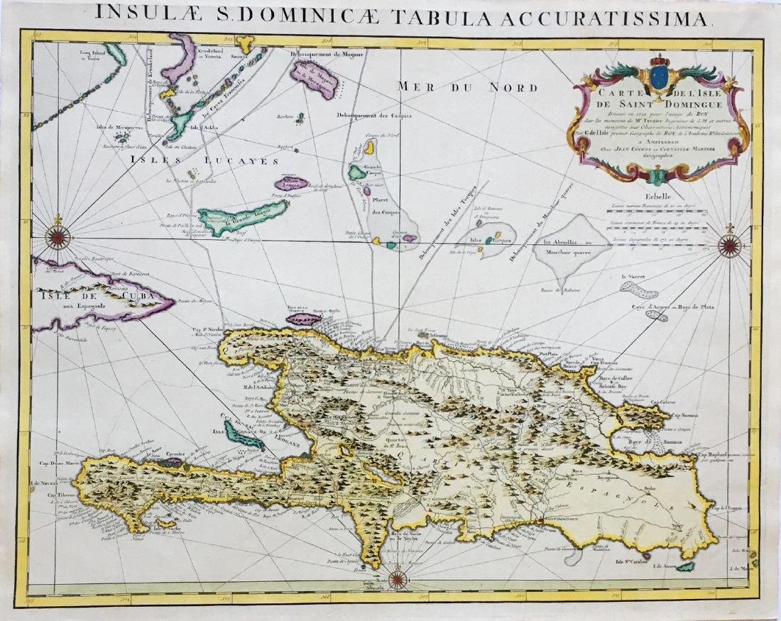 de l'Isle/Covens & Mortier: Hispaniola