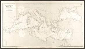 Mediterranean & Black Seas. Lighthouses. Admiralty