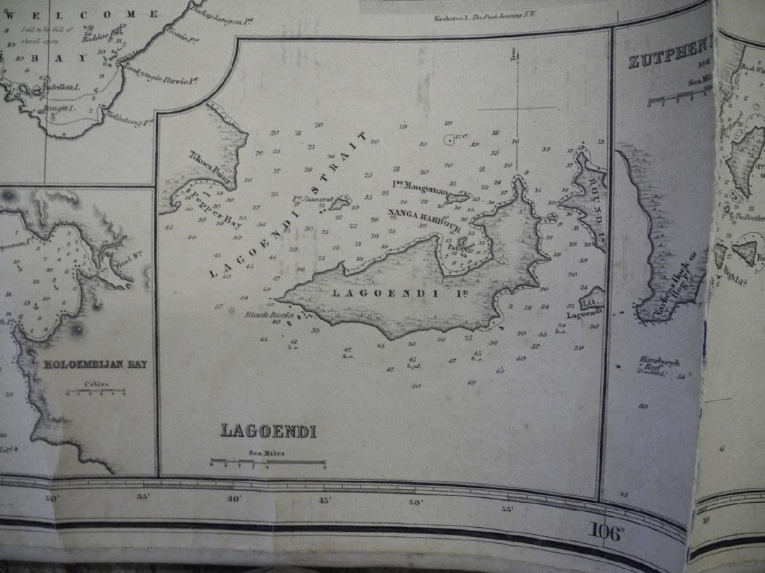 Strait of Sunda Compiled from Recent Surveys ... 1868 - 3