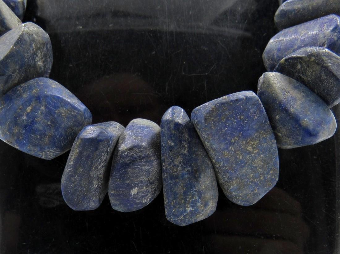 Ancient Bactrian Lapis Lazuli Beaded Necklace - 2