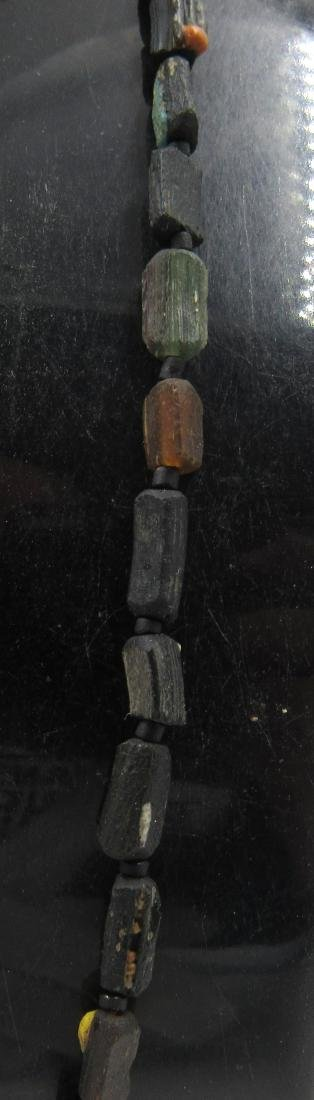 Medieval Viking Era Glass Beaded Necklace - 3