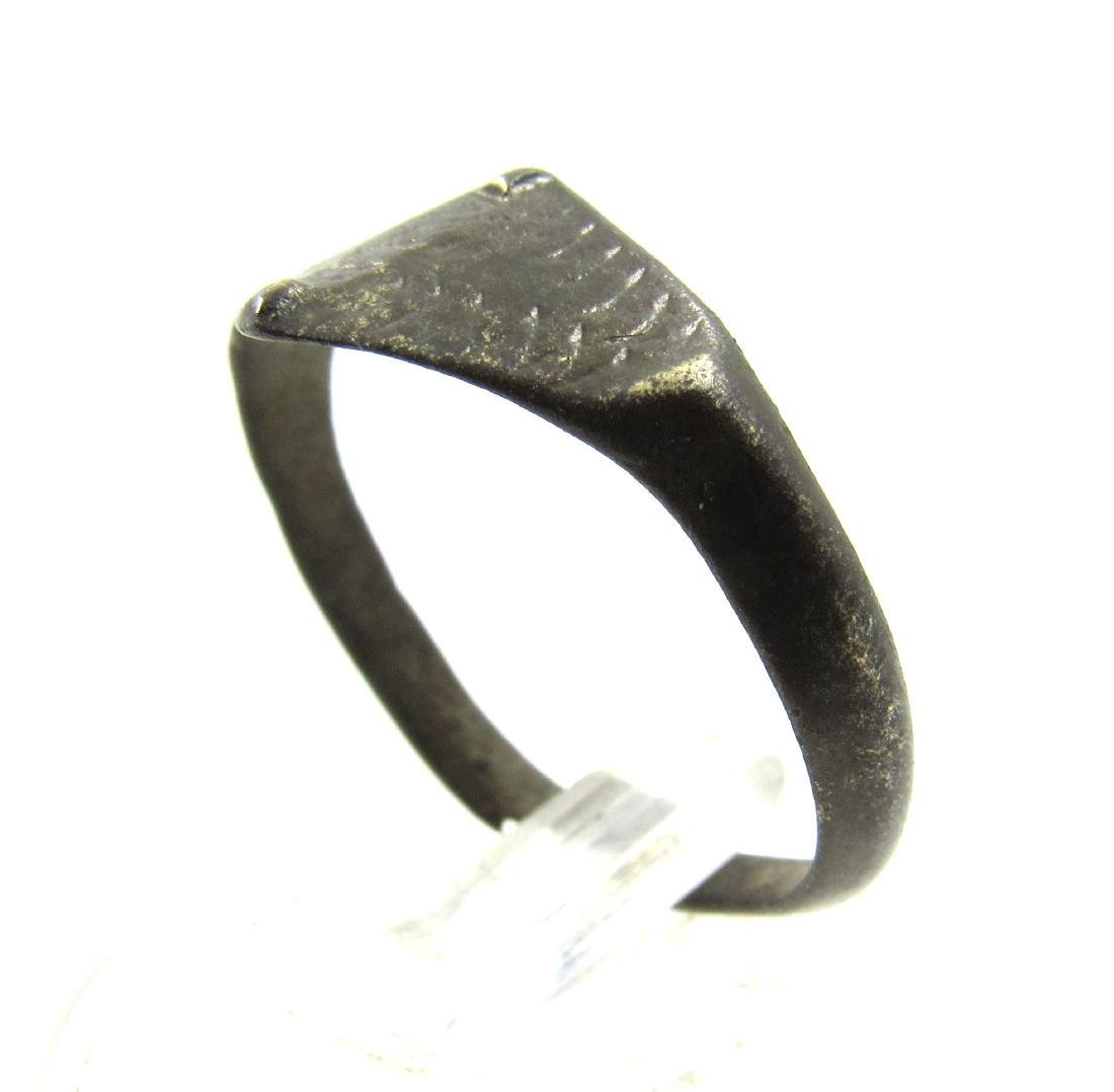 Medieval Viking Era Bronze Dragon's Eye Ring - 2