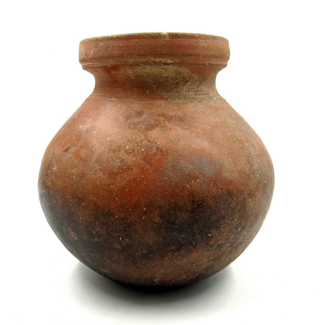 Large Ancient Roman Legionary Terracotta Jar - 2