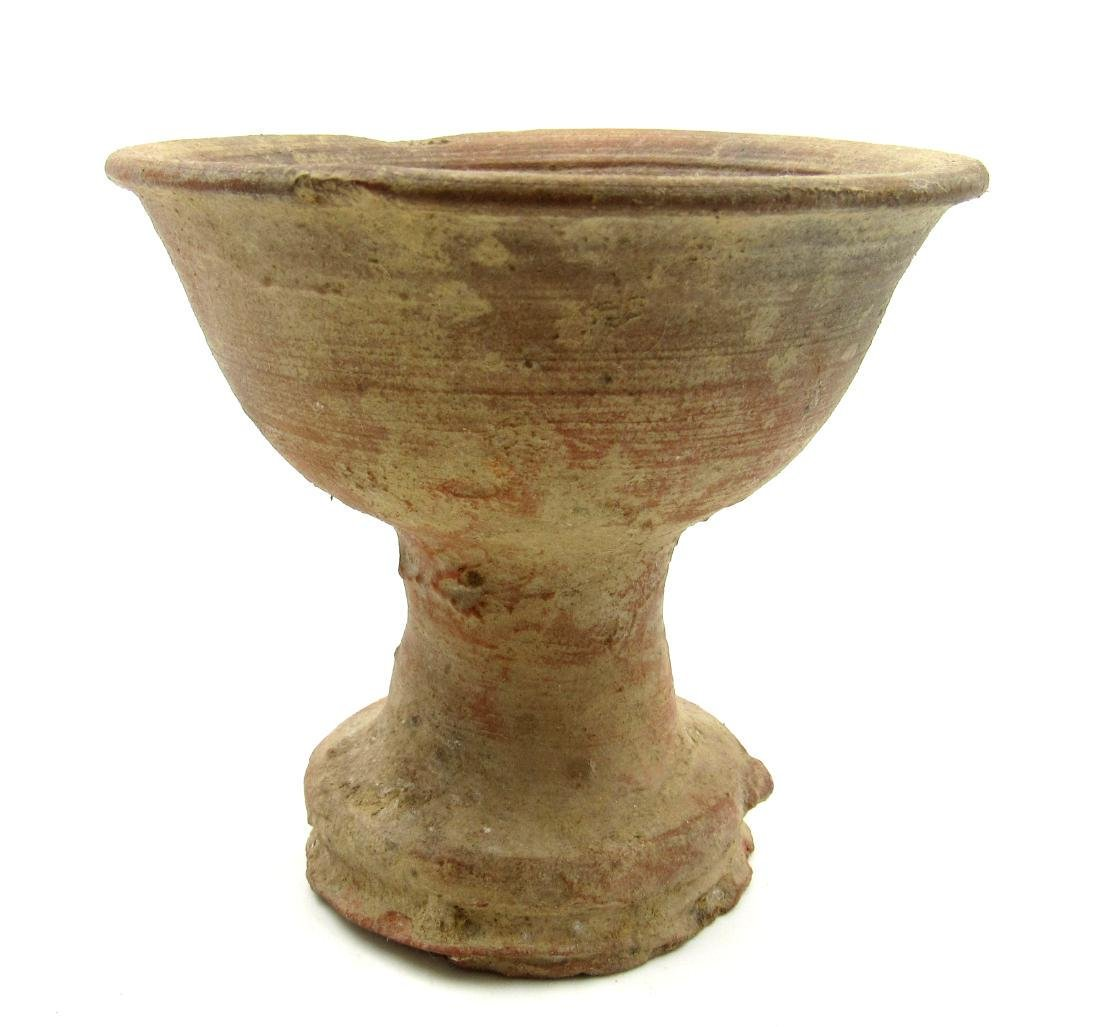 Ancient Roman Legionary Terracotta Chalice Cup