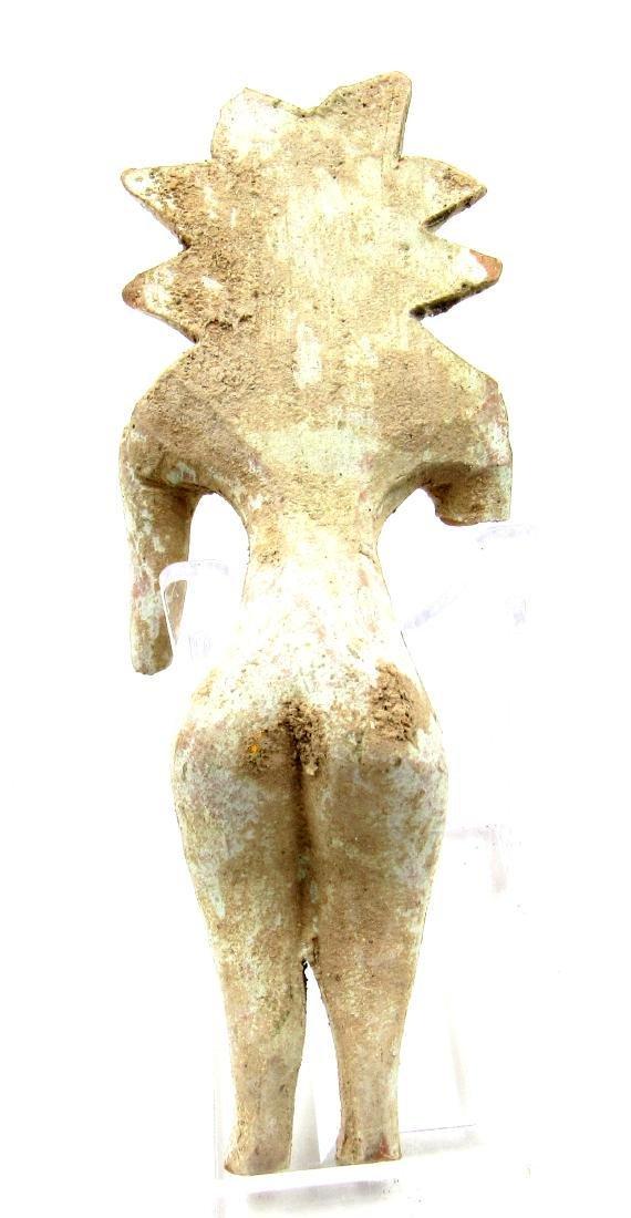 Ancient Indus Valley Terracotta Female Fertility Idol - 3