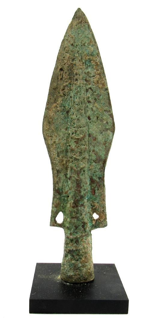 Ancient Chinese Warring States Era Decorated Bronze