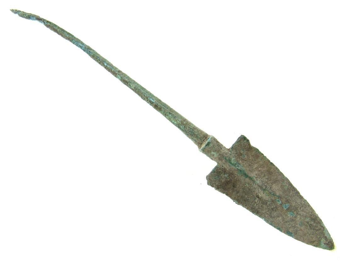 Ancient Greek Bronze Spear Head - 2