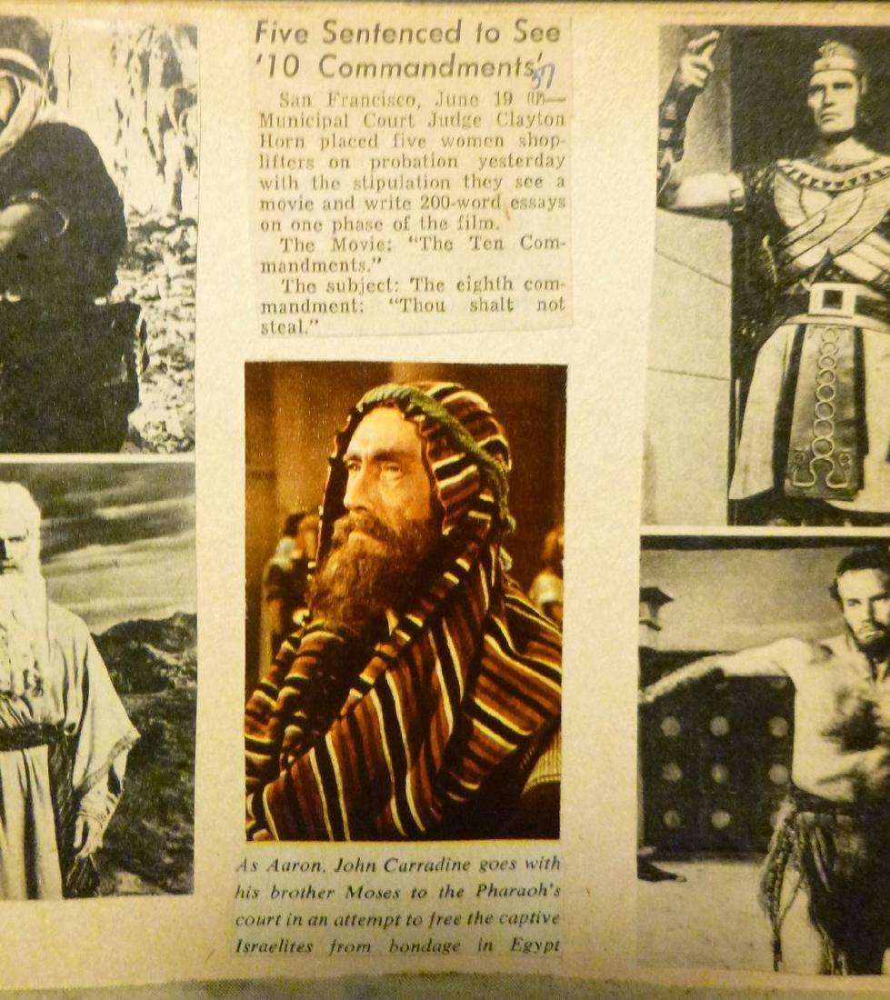 Cecil B. DeMille's The Ten Commandments 1957 - 10