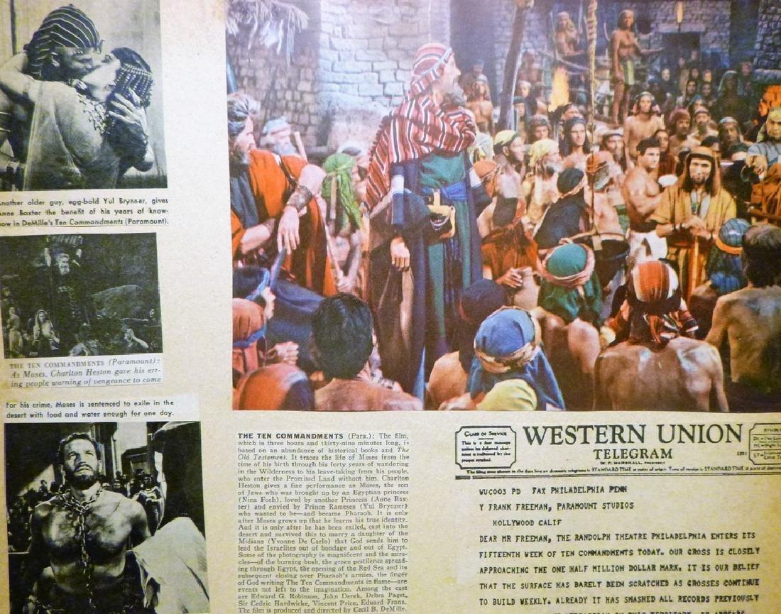 Cecil B. DeMille's The Ten Commandments 1957 - 4