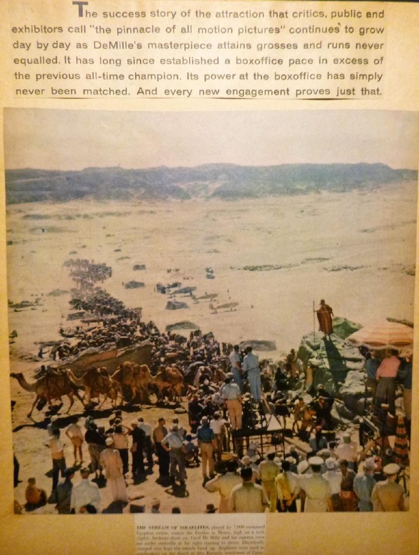 Cecil B. DeMille's The Ten Commandments 1957 - 6