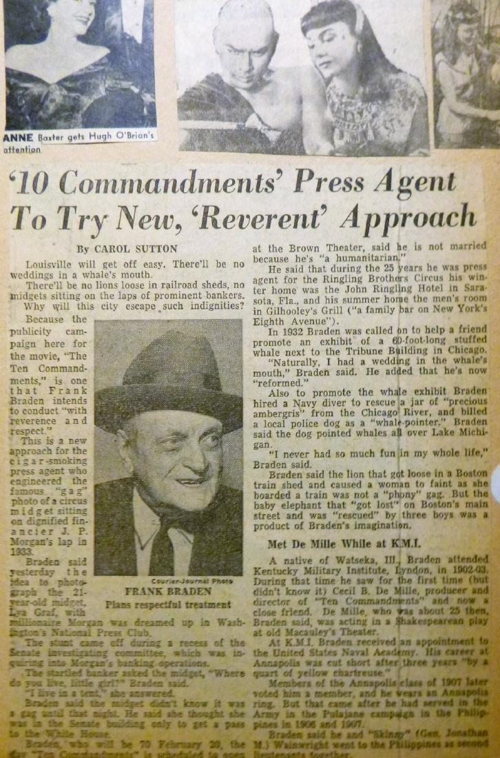 Cecil B. DeMille's The Ten Commandments 1957 - 7