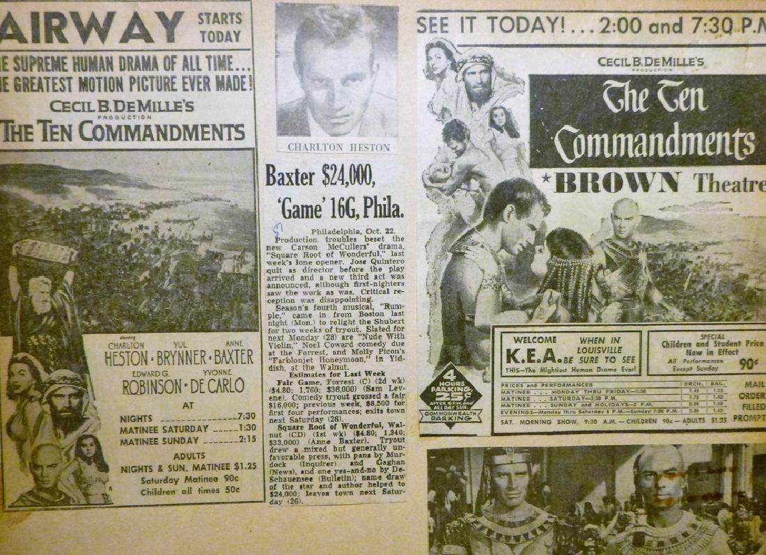Cecil B. DeMille's The Ten Commandments 1957 - 8