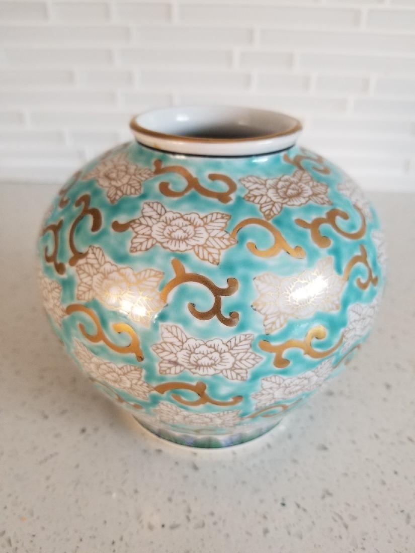 Antique Japanes Imari Gold Vase