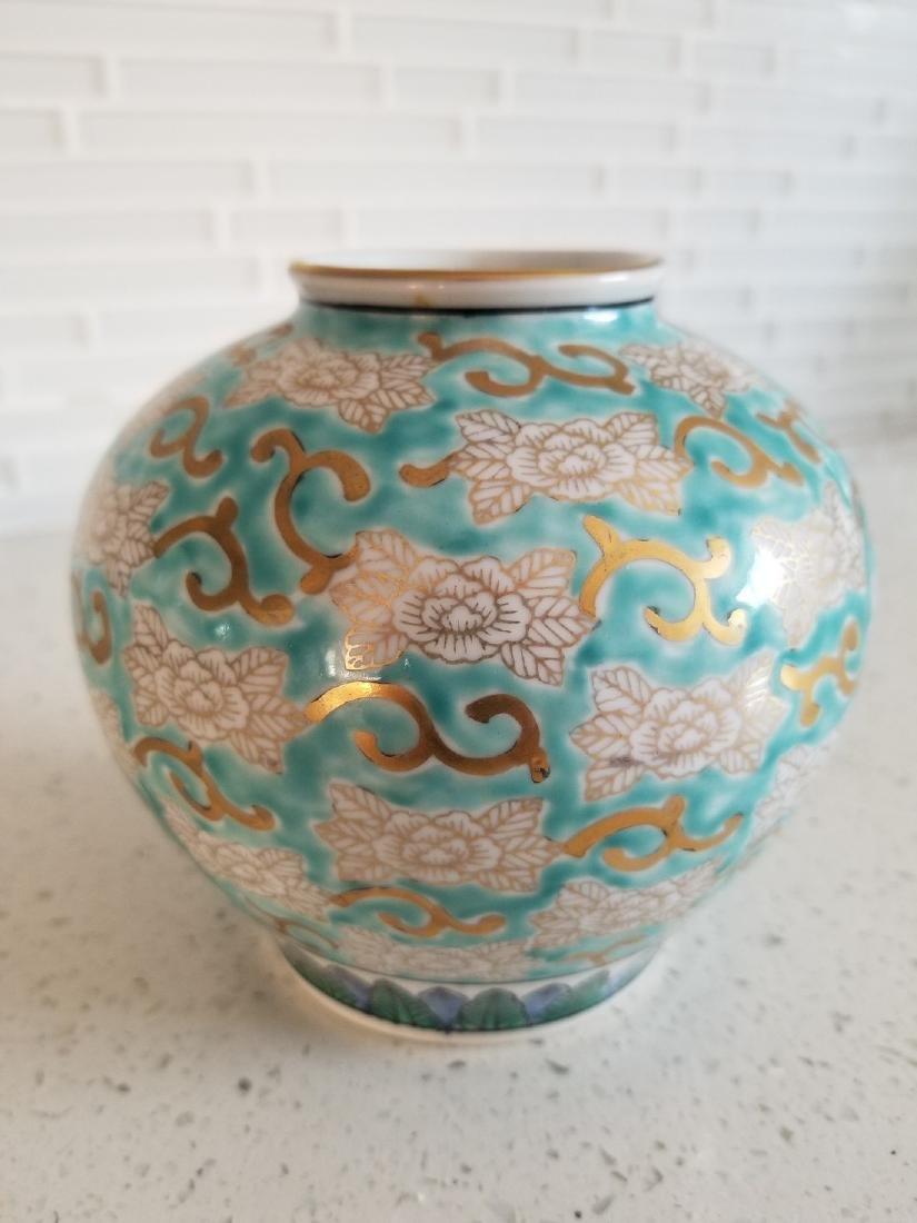 Antique Japanes Imari Gold Vase - 6