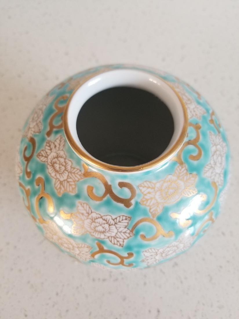 Antique Japanes Imari Gold Vase - 7