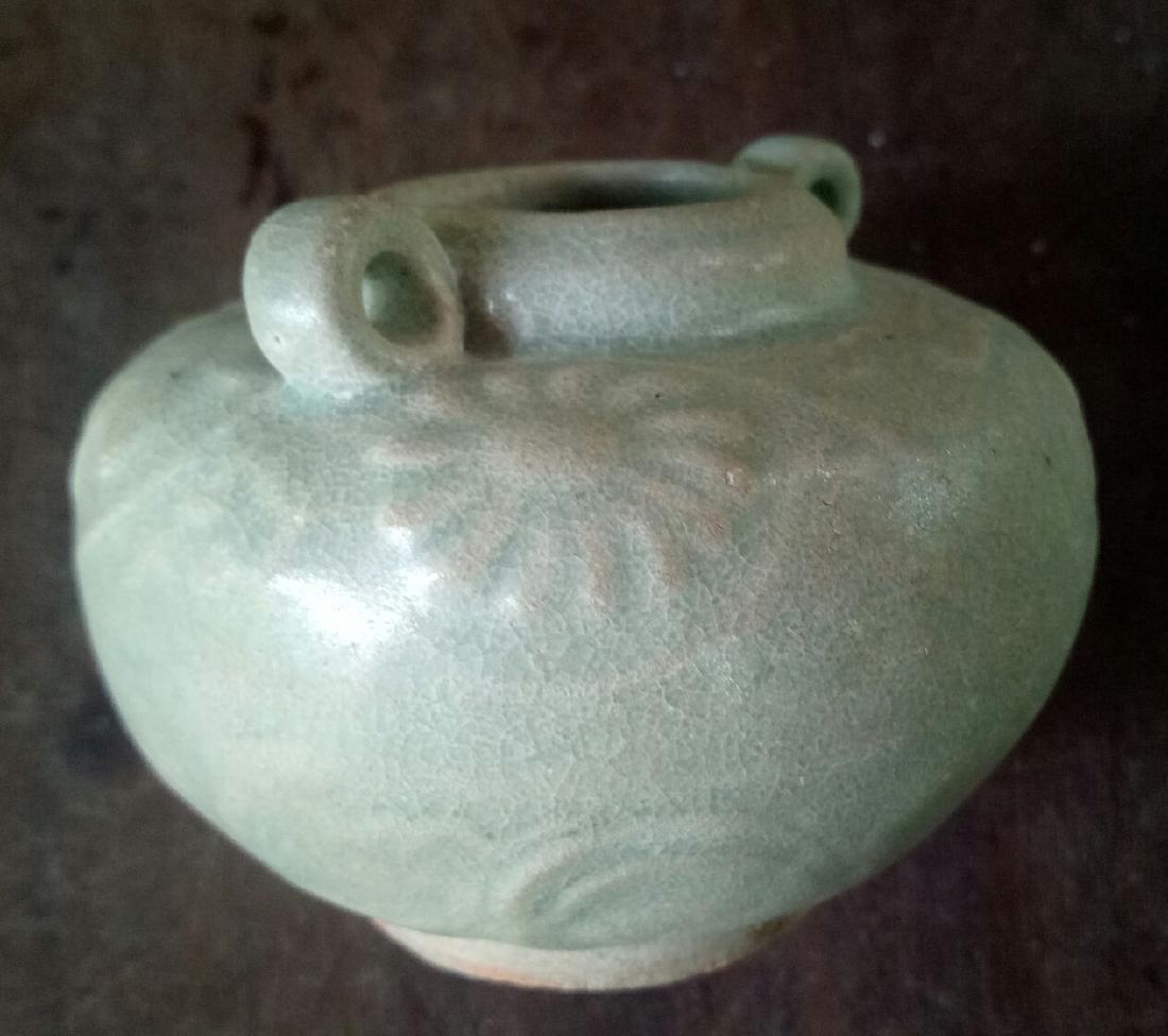 Yuan dynasty celadon small jar