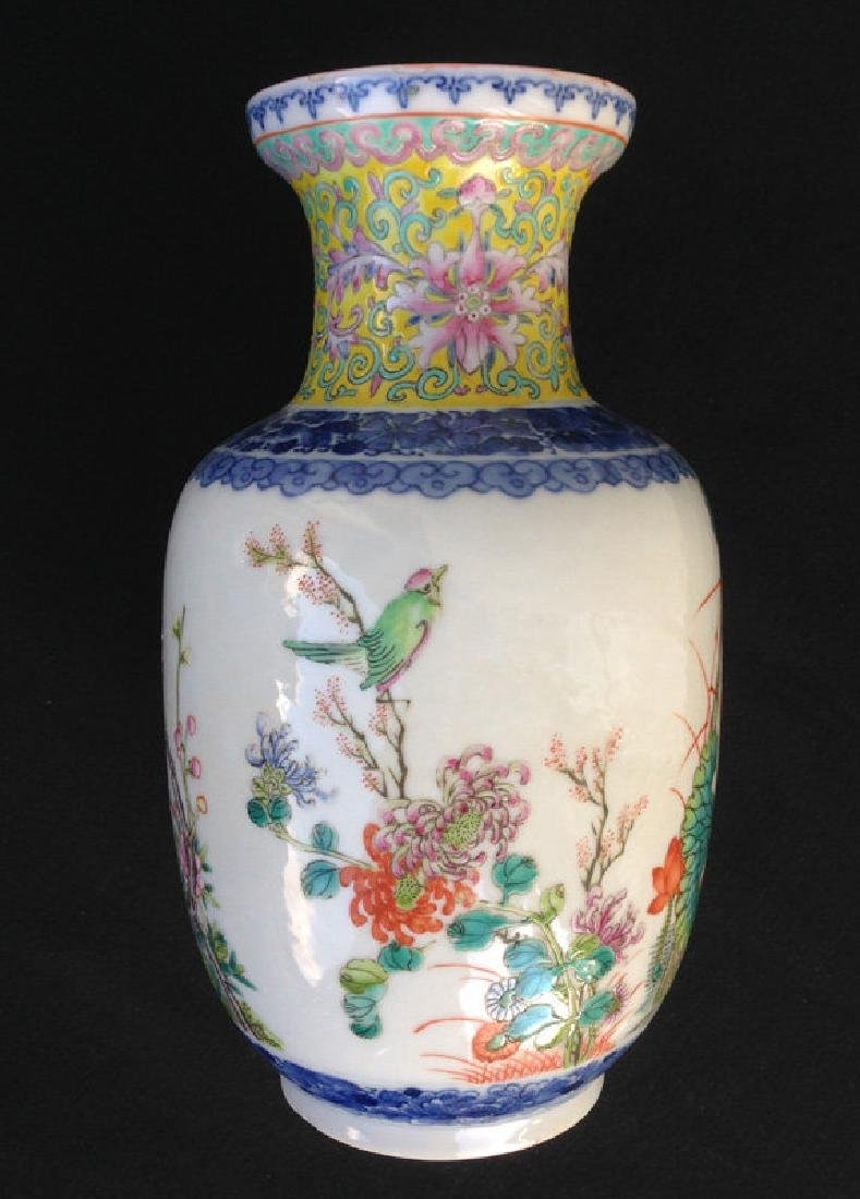 Rouleau vase, late 19th or early 20th century, Guangxu - 3