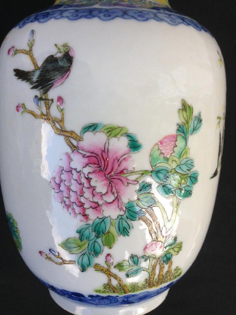 Rouleau vase, late 19th or early 20th century, Guangxu - 6