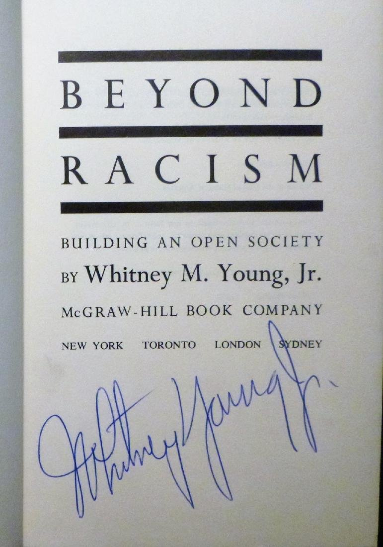 Beyond Racism Signed - 3