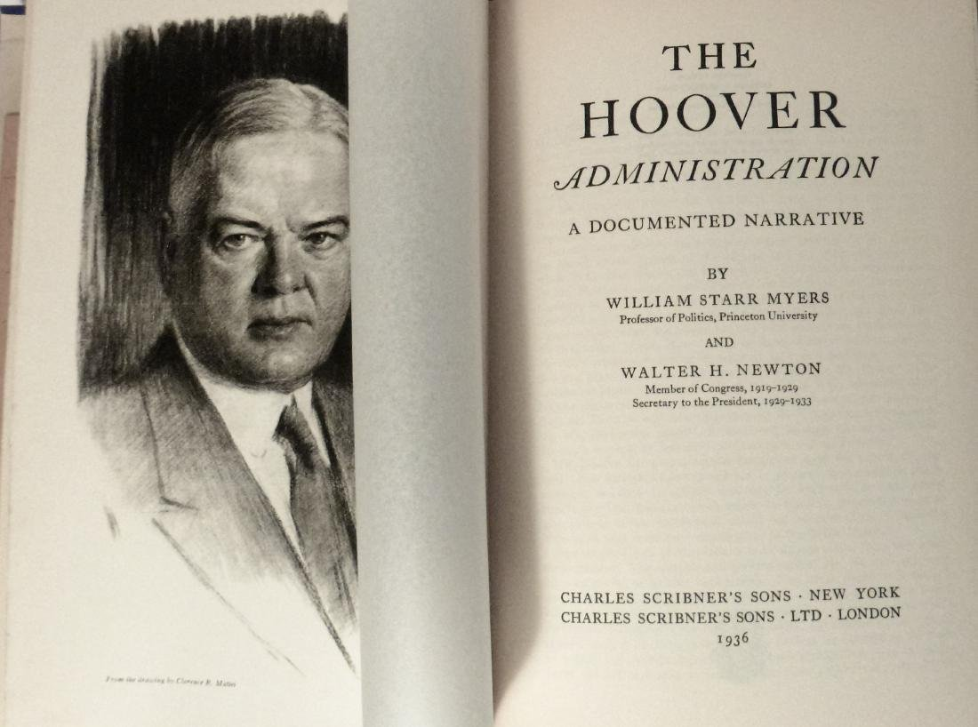 The Hoover Administration, A Documented Narrative - 3