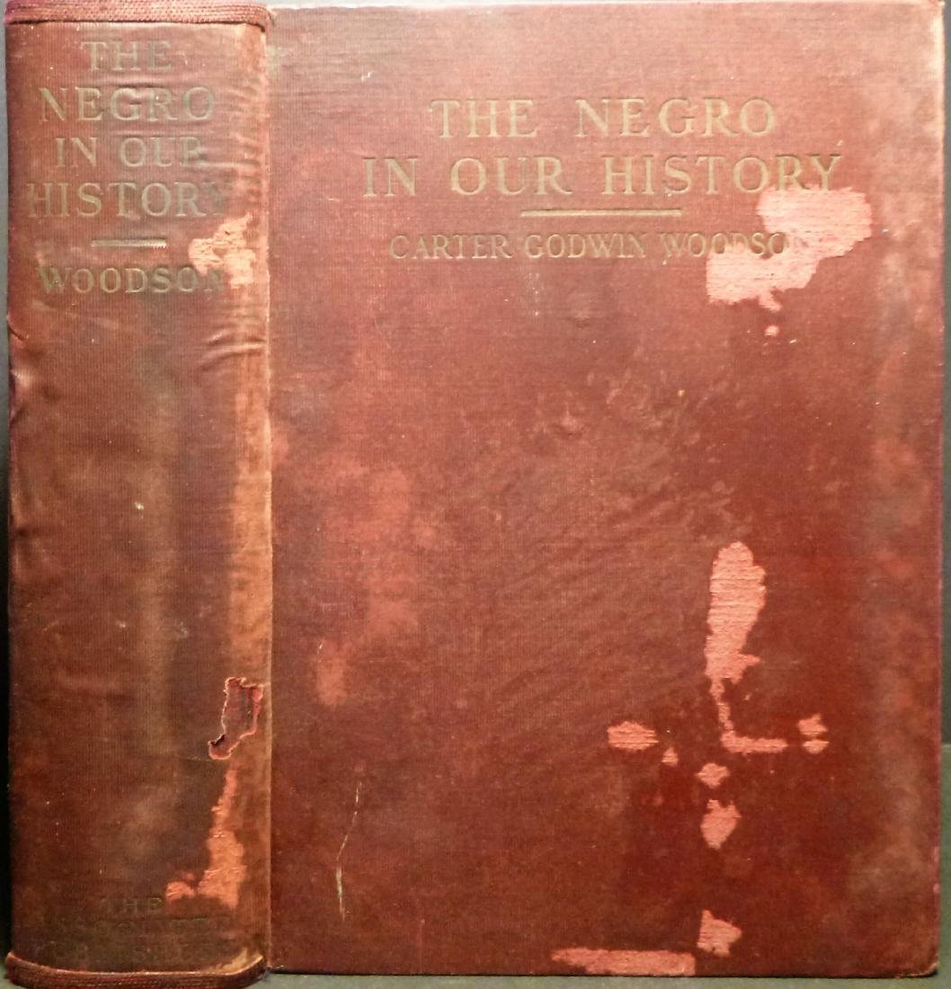 THE NEGRO IN OUR HISTORY Signed