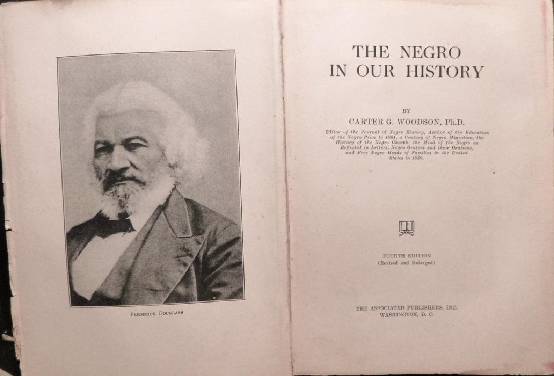 THE NEGRO IN OUR HISTORY Signed - 7