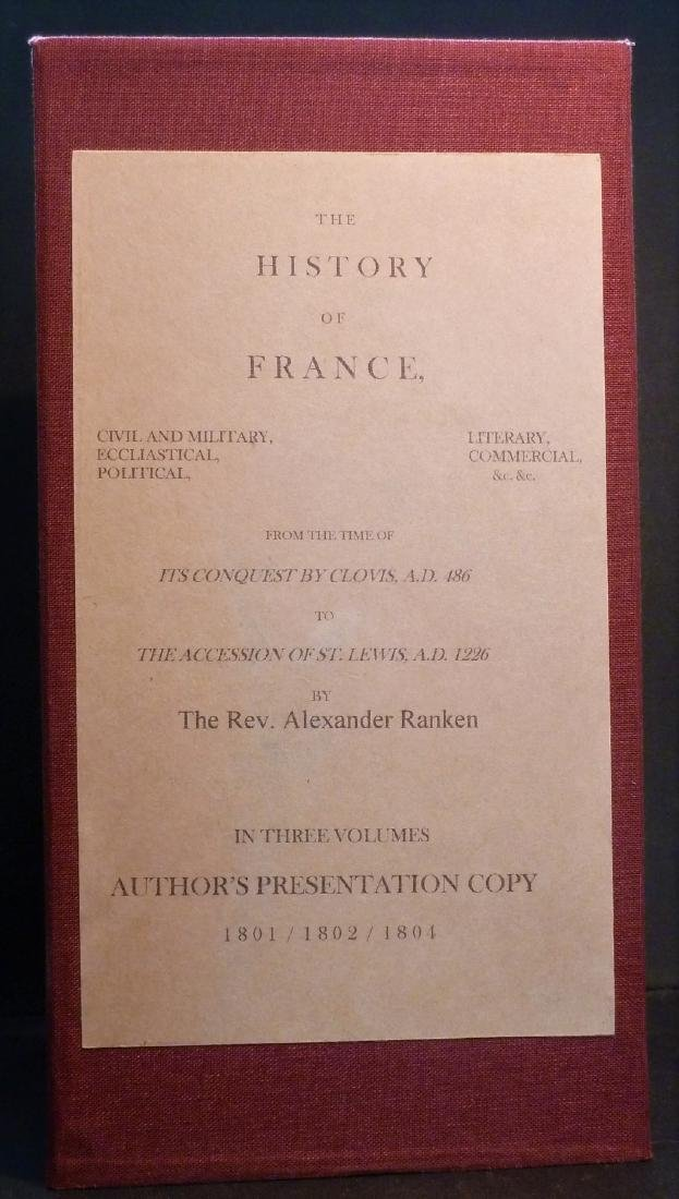 The History of France Signed