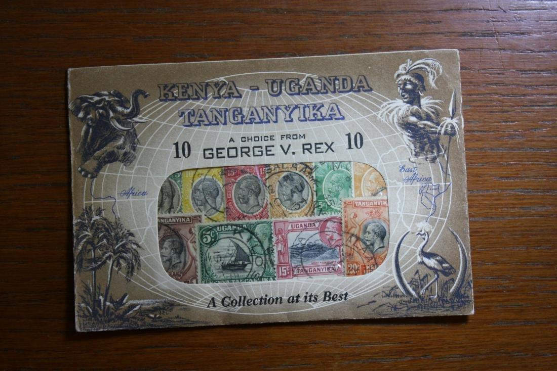 Stamp envelope KENYA-UGANDA TANDANYIKA
