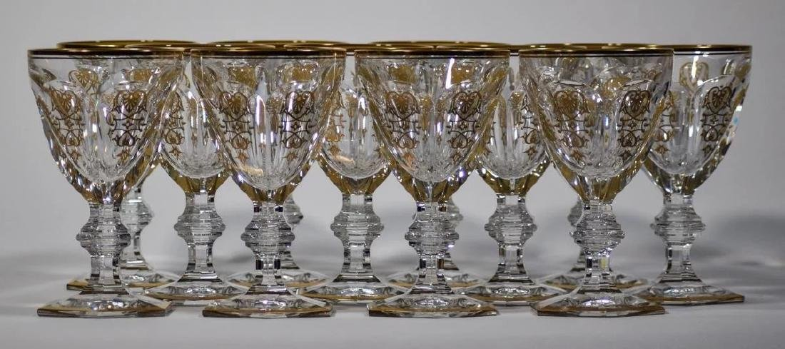 12 Baccarat Empire Water Goblets - 2