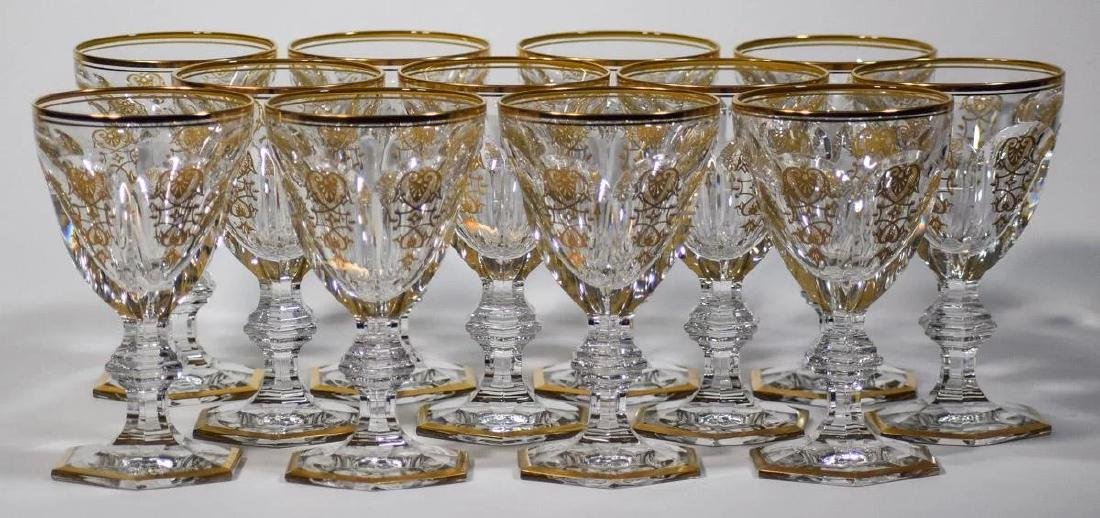 12 Baccarat Empire Water Goblets - 3