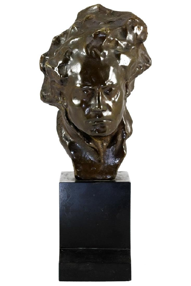 Bronze sculpture of Beethoven by Alfredo Pina