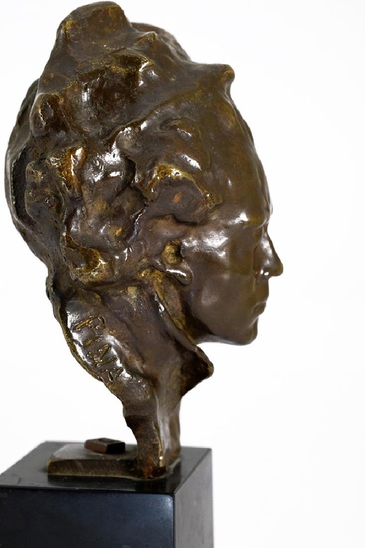 Bronze sculpture of Beethoven by Alfredo Pina - 3