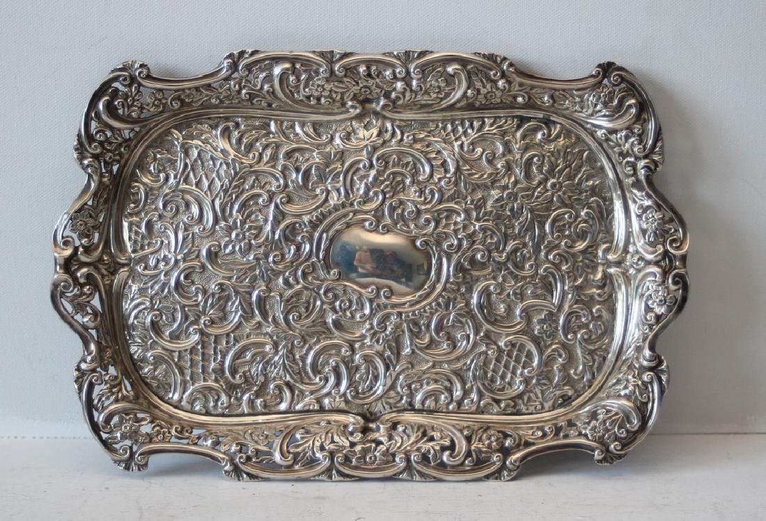 1898 British Silver dish - William Harris