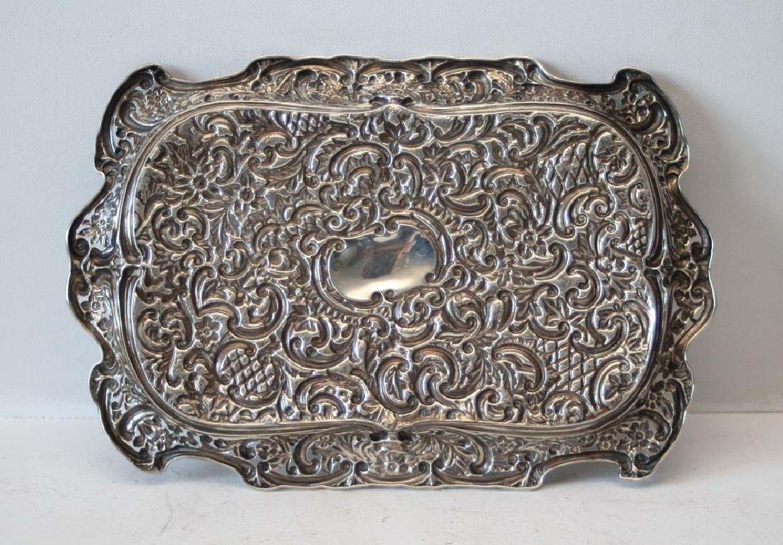 1898 British Silver dish - William Harris - 2