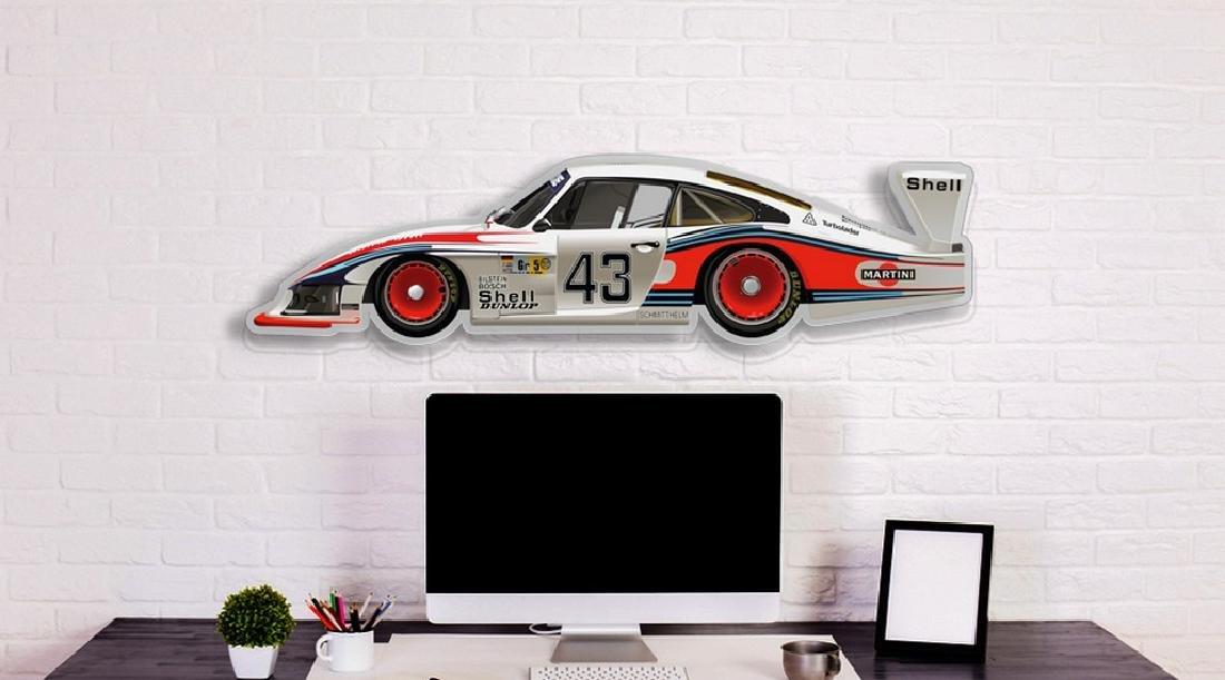 Wall Plexiglas Model PORSCHE 935 MOBY DICK - 6