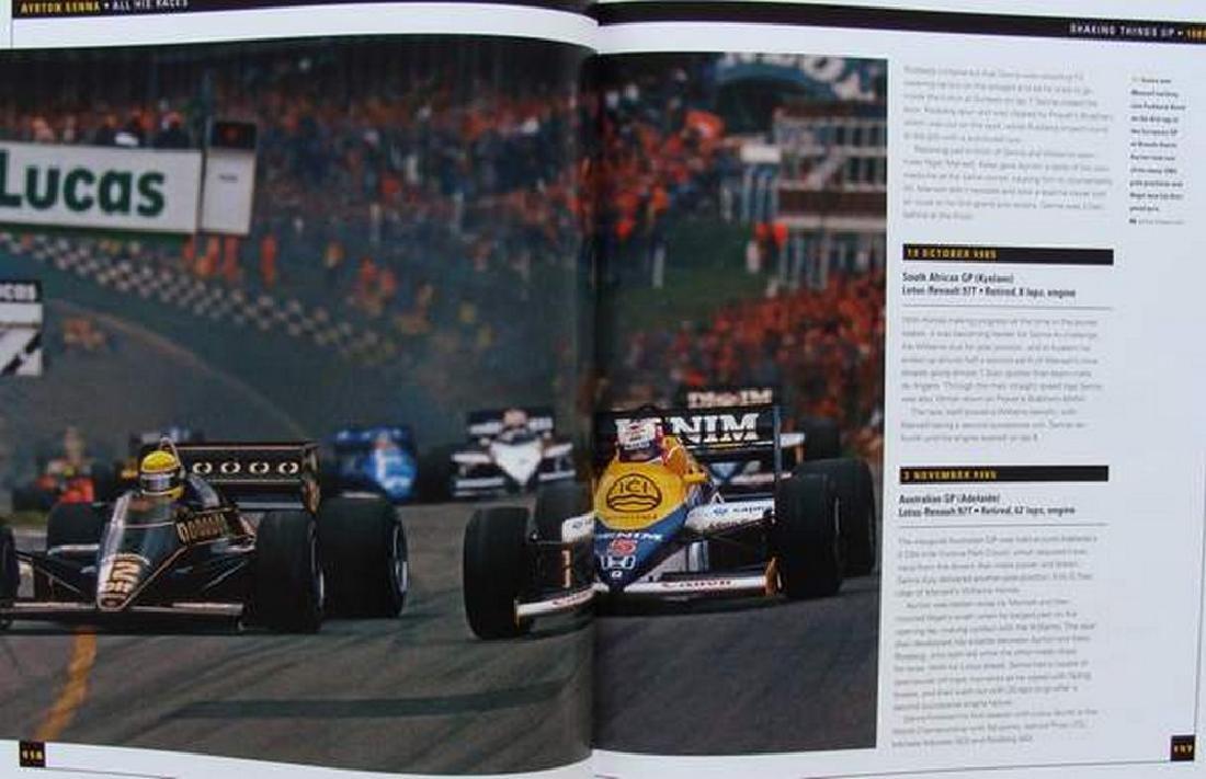 Ayrton Senna - All His Races - 3