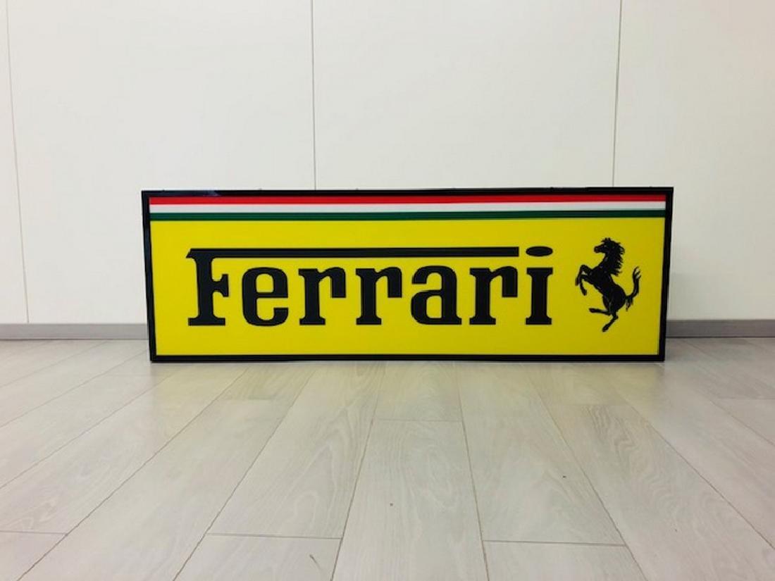 Ferrari Restored Sign
