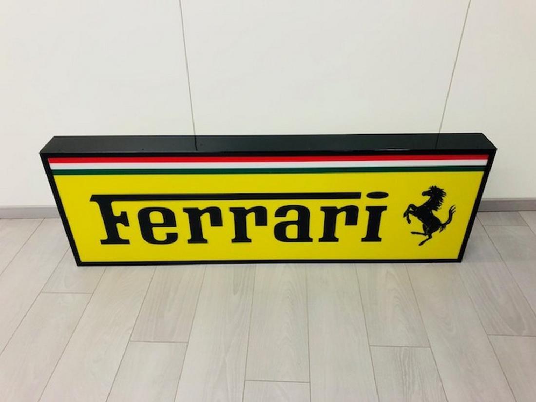 Ferrari Restored Sign - 2