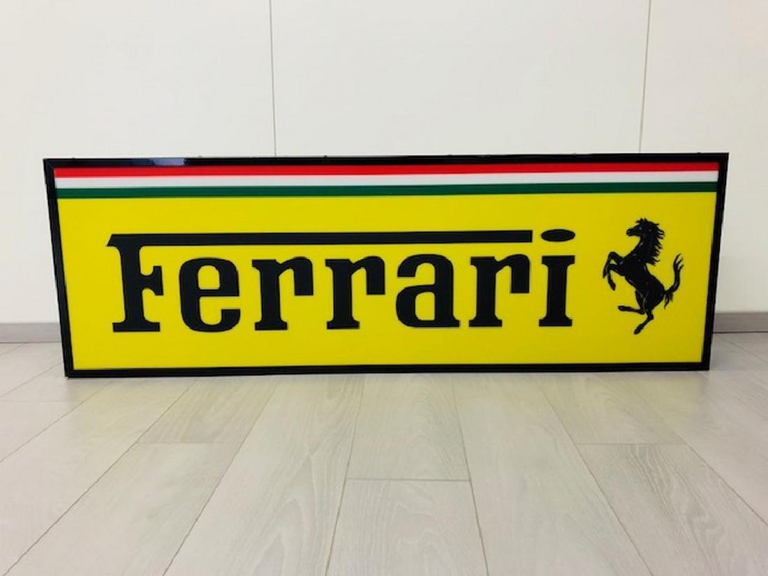 Ferrari Restored Sign - 3