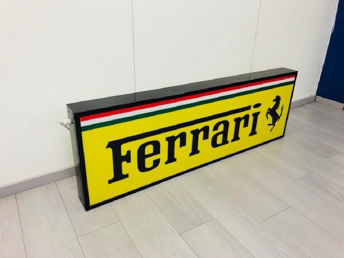 Ferrari Restored Sign - 4