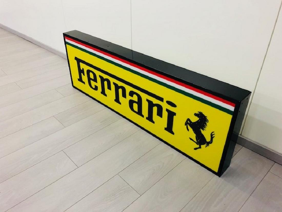 Ferrari Restored Sign - 5