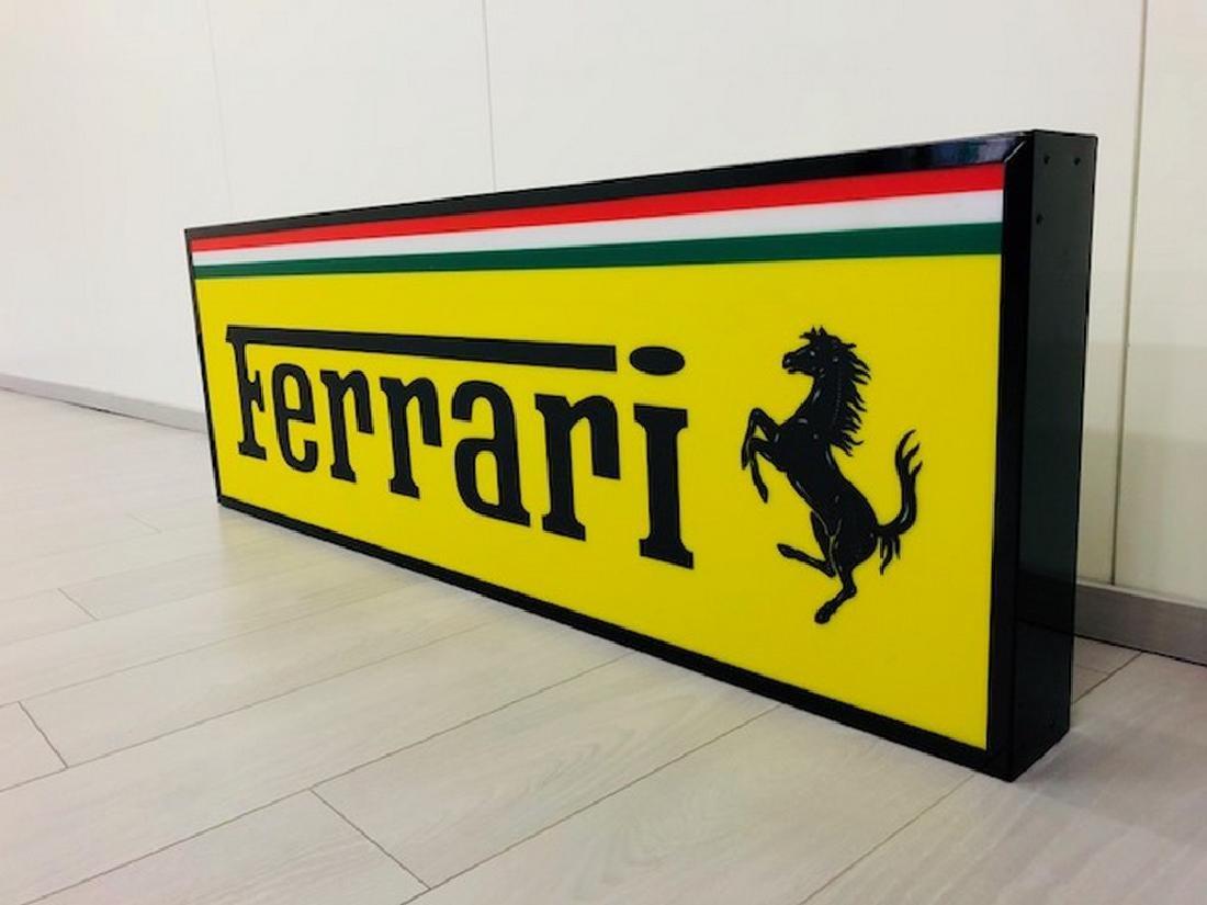 Ferrari Restored Sign - 6