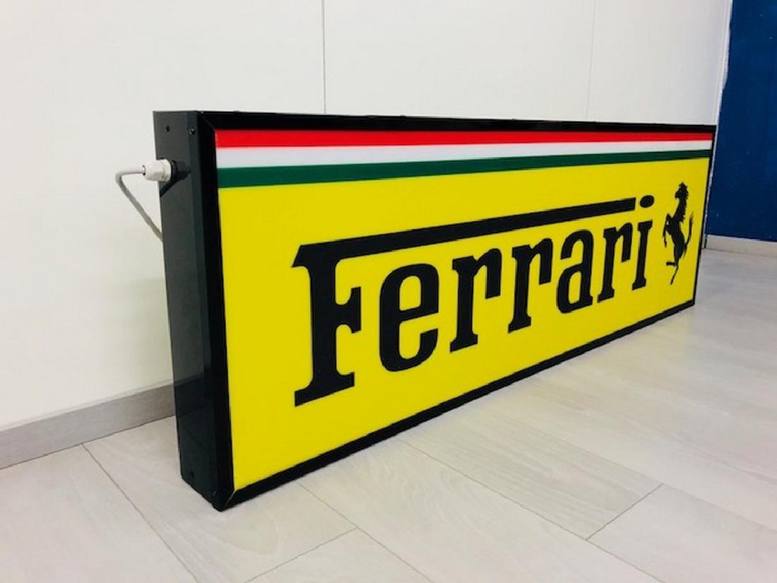 Ferrari Restored Sign - 7