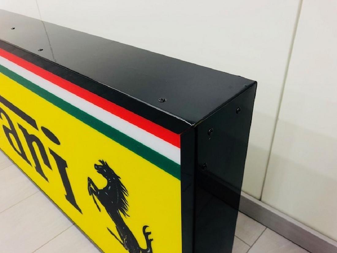 Ferrari Restored Sign - 9