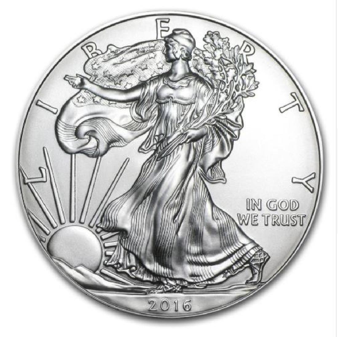 Walking Liberty 1oz Silver clad coin