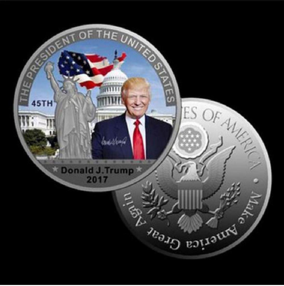 Donald Trump 45th President Statue of Liberty - 4